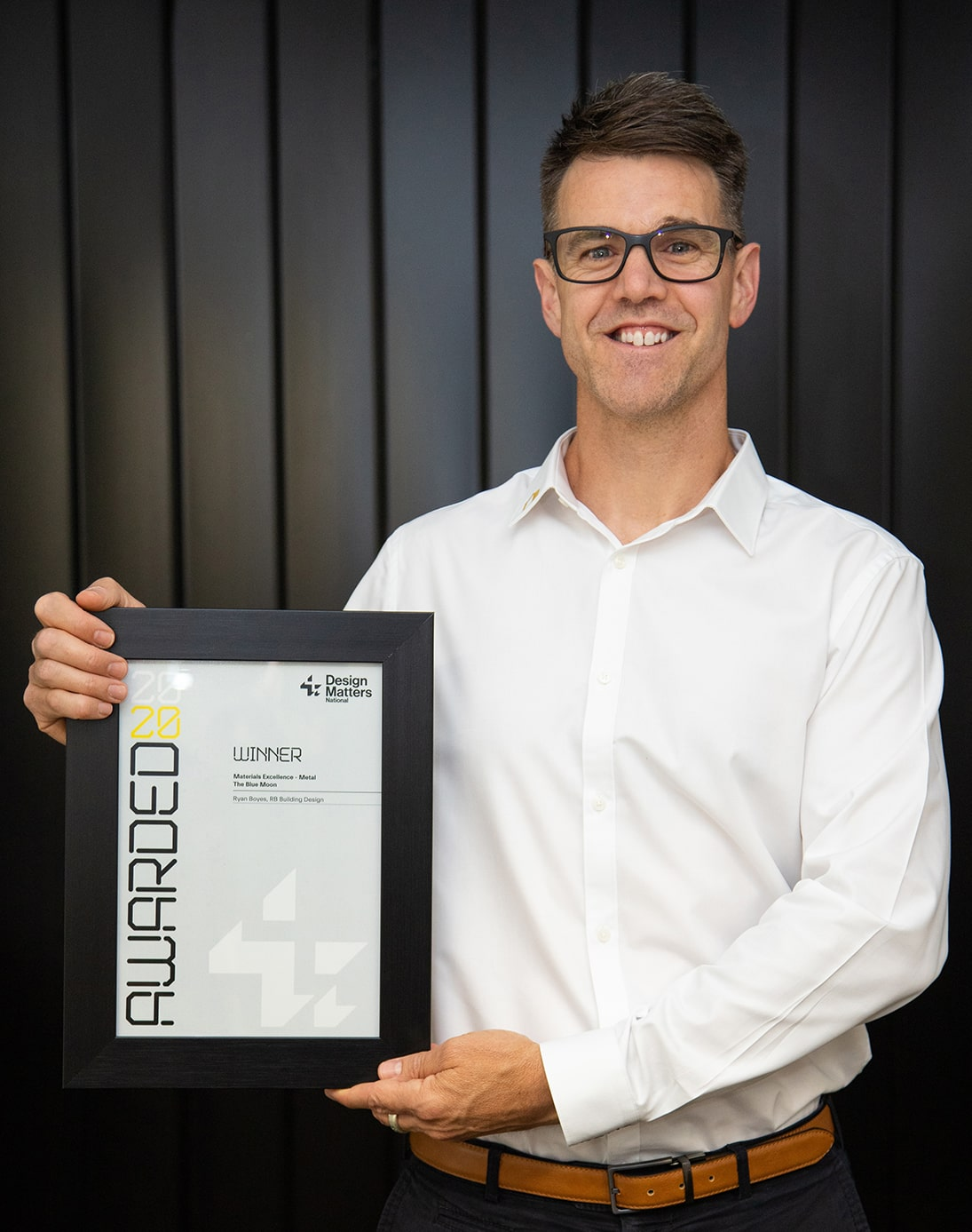 Design Matters National Winner - Excellence in Use of Metal
